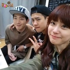SBS Roommate | Cute Youngji with her 2 equally handsome oppas Kang Joon and Jackson♡