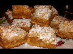 Prajitura cu mere si bezea | Anyta Cooking - YouTube Romanian Desserts, Romanian Food, Food Videos, French Toast, Sweets, Cooking, Breakfast, Youtube, Sweet Pastries