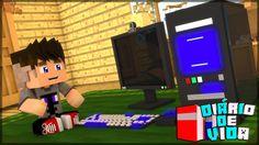 GANHEI UM PC GAMER - DIÁRIO DE VIDA #35 ( MINECRAFT MACHINIMA )