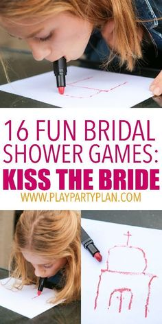 16 of the best bridal shower games ever, these look like so much fun! #bridalshowergifts