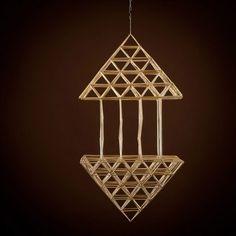 Straw Decorations, Chandelier, Ceiling Lights, Lighting, Pendant, Home Decor, Candelabra, Decoration Home, Light Fixtures