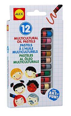ALEX Toys Artist Studio Multicultural Oil Pastels
