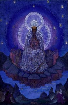 Mother of the World   Nicholas Roerich  Nicholas Roerich Museum NY