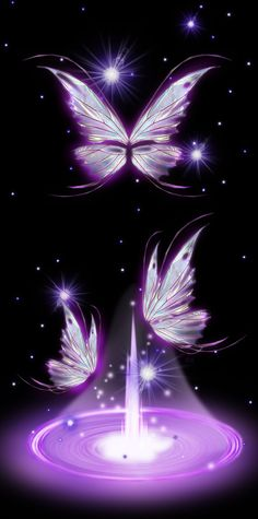 Butterfly Wallpaper, Purple Wallpaper, I Wallpaper, Wallpaper Backgrounds, Wallpaper Ideas, Iphone Wallpapers, Purple Butterfly, Butterfly Flowers, Beautiful Butterflies