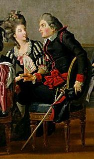 In 1778 Gustav III of Sweden introduced a new style of court dress. The male version did not survive but the female version, after various modifications made during the C19th, was worn until the early Sixties.