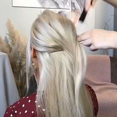 wedding hairstyle for bride - Haare & Beauty - Hochsteckfrisur Bride Hairstyles, Easy Hairstyles, Hairstyle Wedding, Scene Hairstyles, Hair Updo, Black Hairstyles, Vintage Hairstyles, Hair Upstyles, Hair Videos