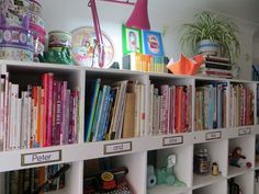 lazy daisy jones I 'kondoed' my bookshelf..  http://www.lazydaisyjones.com/2015/03/i-kondoed-my-bookshelf.html