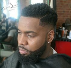 Simple part and beard cut found by @djcwells