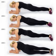 Sassy Fit Girl  Plank Exercises