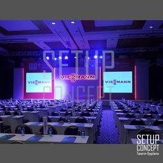 Viessmann Bayi Toplantısı sahne dekor tasarım uygulama #sahne #dekor #sahnedekor #stage #stagedesign #lansman #gala #event