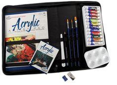 Acrylic Keep N Carry Extra Large Art Set 458244 - Kits & Sets $17.63