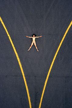 Aerial Nude by John Crawford