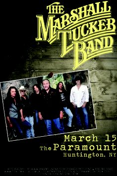The Marshall Tucker Band LIVE at The Paramount on Friday, March 15th!
