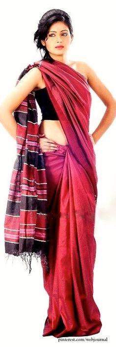 Handwoven Assamese Eri silk from Weaves of India