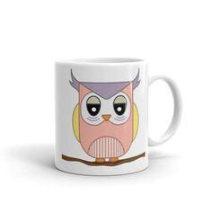 Mommy Owl Mug, Mug, matching family outfits - Winky Shiba Co. Owl Mug, Matching Family Outfits, Shiba, Mugs, Tableware, Home Decor, Homemade Home Decor, Dinnerware, Cups