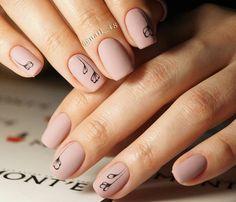Cool Exquisite nails images for your pleasure. Pale Pink Nails, Neutral Nails, Minimalist Nails, Stylish Nails, Trendy Nails, Punk Nails, May Nails, Short Gel Nails, Plain Nails