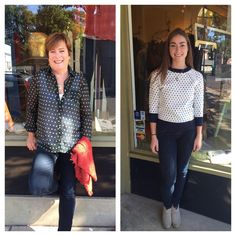 Frox Fashion Friday! Fall is in the air in Perkasie too!! Here are Sue and Becky's picks for the week! Like, comment and share or just pop in and let us know your favorite!