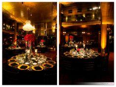 Cicada Club Wedding in Los Angeles with Elevated Pulse Productions #losangeleswedding #downtownla #cicadaclub #elevatedpulse #weddingdj #pinspotlights #eventlighting #dtla #redandgoldwedding #greatgatsby