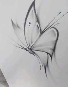 How to draw a butterfly drawing Butterfly Sketch Art Drawings Sketches Simple, Pencil Art Drawings, Beautiful Drawings, Drawing Drawing, Drawing Tips, Drawing With Pencil, Pencil Sketch Art, Easy Sketches To Draw, How To Sketch
