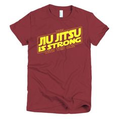 The Jiu Jitsu is Strong With this One Short sleeve women's t-shirt