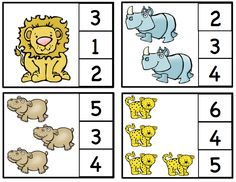 Preschool Printables: African Animals