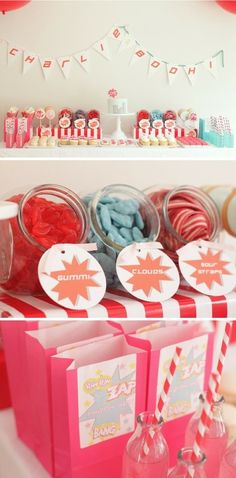 super hero party #party #ideas #boys #girls