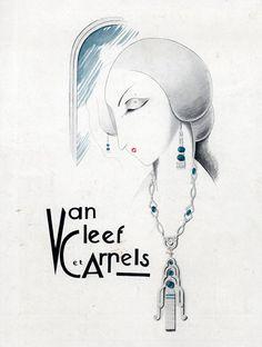 Vintage - Esquisses et Croquis - Bijoux - Van Cleef & Arpels