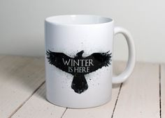 Game of Thrones Westeros Ceramic Mug Cup WINTER IS HERE in Collectables, Kitchenalia, Mugs | eBay!
