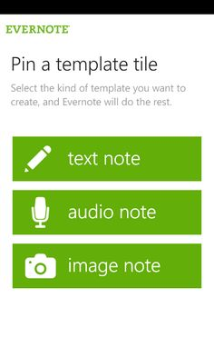Evernote turns your phone into an extension of your brain.