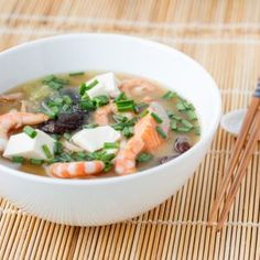 Slow Cooker Miso Soup w/Shrimp