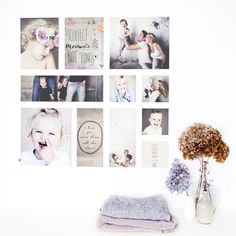 Wow, wat een gave Ogu! In onze shop ontworpen door Iris Kollf Fotografie! Photo Wall Collage, Picture Wall, Picture Frames, Foto Transfer, Diy Frame, Photo Displays, Cool Walls, Collages, Living Room Decor