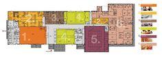 Grundriss: Sportzentrum TSV Mannheim Thesis, Floor Plans, Diagram, Sport, Recovery, Mannheim, Floor Layout, Architecture, Deporte