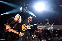 Mark Matejka, Rickey Medlocke, Gary Rossington, and Johnny Colt of Lynyrd Skynyrd perform onstage at One More For The Fans! - Celebrating the Songs & Music of Lynyrd Skynyrd at The Fox Theatre on November 12, 2014 in Atlanta, Georgia.