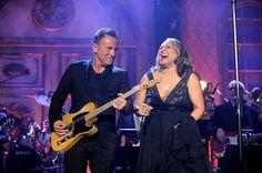 Bruce Springsteen and Darlene Love