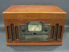 Crosley CR74 Retro Style Stereo/CD/Record Player