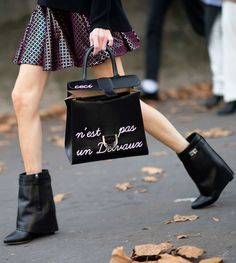 This Woman Who Is Artfully Undone She who wears Givenchy boots and drops Foucault deserves a place on this list.   Photo: YoungJun Koo/I'M KOO