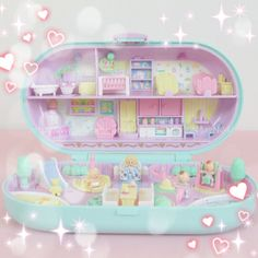 Twinkle, Twinkle — toyblush: Polly Pockets for anonymous (D/dl/g. Childhood Toys, Childhood Memories, Polly Pocket World, Poly Pocket, Barbie Makeup, Bloom Baby, 90s Toys, Cute Toys, Toy Boxes