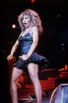 Tina Turner!!  What fierce looks like!