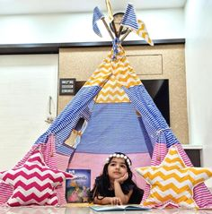 Kids Tents for Teepee Tents for Sale by Playtents, India Teepee Tent For Sale, Kids Teepee Tent, Girls Tent, Childrens Tent, Baby Tent, House Tent, Pink Stars, Birthday Parties, Party Ideas