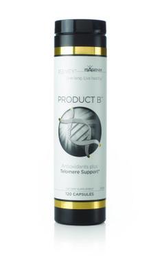 Product B adalah revolusi dan resolusi alami untuk anti penuaan dini dengan proteksi telomere