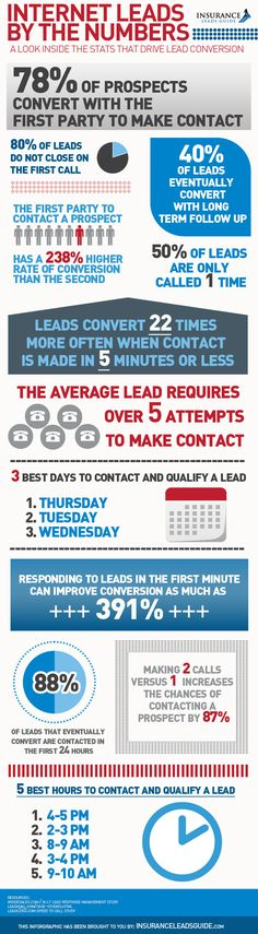 Internet Leads Infographic