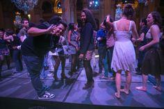 Juin 2013 : Nuit Paris Jeunes #6 / vous étiez plus d'un millier à danser dans les salons de l'Hôtel de Ville...