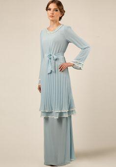 ... baju melayu baju kurung moden fashion wateva jubah dress hijab