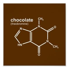 chemical compound of chocolate