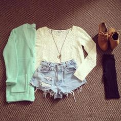 Not really my style,, but still loving it....well minus the cardigan