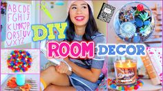GET THIS VIDEO TO 100,000 LIKES! :) Here are some super cheap and ADORABLE ways to update your room to look like Pinterest! Watch ALL my DIY Room Decorations...
