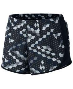Nike Dri-fit Tempo Running Shorts, Big Girls (7-16) - Black XL