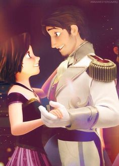 Rapunzel and Eugene~Okay that was confusing...
