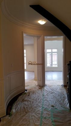 Entryway Casing Trim Millwork Archways Casings Pinterest - Cornice crown moulding toronto wainscoting coffered ceiling