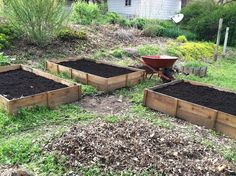Cedar Raised Beds made out of those crazy cheap cedar fence pickets. | 1000#beds #cedar #cheap #crazy #fence #pickets #raised Raised Bed Fencing, Cedar Raised Garden Beds, Building A Raised Garden, Raised Beds, Farm Gardens, Small Gardens, Veggie Gardens, Permaculture, Cedar Fence Pickets